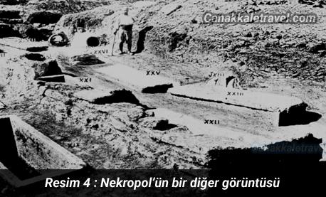Nekropol'ün bir diğer görüntüsü