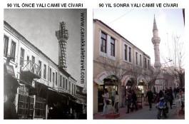 90 Yıl Önce Yalı Camii ve Civarı