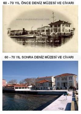 60-70 Yıl Önce Deniz Müzesi ve Civarı