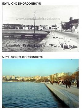 50 Yıl Önce ve Sonra Kordonboyu Civarı