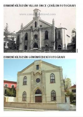 Ermeni Kilisesi'nin 100 Yıl Önce ve Sonraki Görünümü