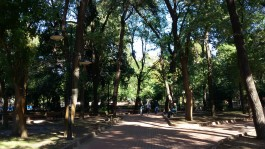 Çanakkale'nin Dinlenme Merkezi 'Halk Bahçesi'nden Bir Görünüm