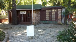 Halk Bahçesinde Yer Alan Sanat Evi
