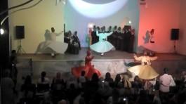 Eski Ermeni Kilisesinde Düzenlenen Sema Gösterisi
