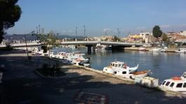 Sarıçay Üzerinde Yeni Yapılan 'İnönü Köprüsü'