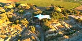 Troia Antik Kentinin Havadan Görünümü
