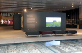Troya Müzesi'nin İçinden Görünüm