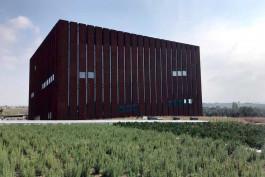 Troya Müzesi'nin Dıştan Genel Görünümü