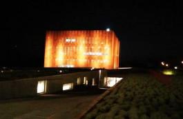 Troya Müzesi'nin Gece Görünümü