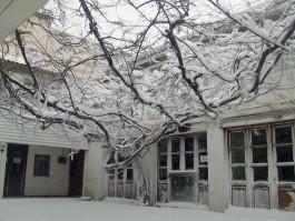 Kış Mevsiminde Tarihi Yalı Hanının Görünümü