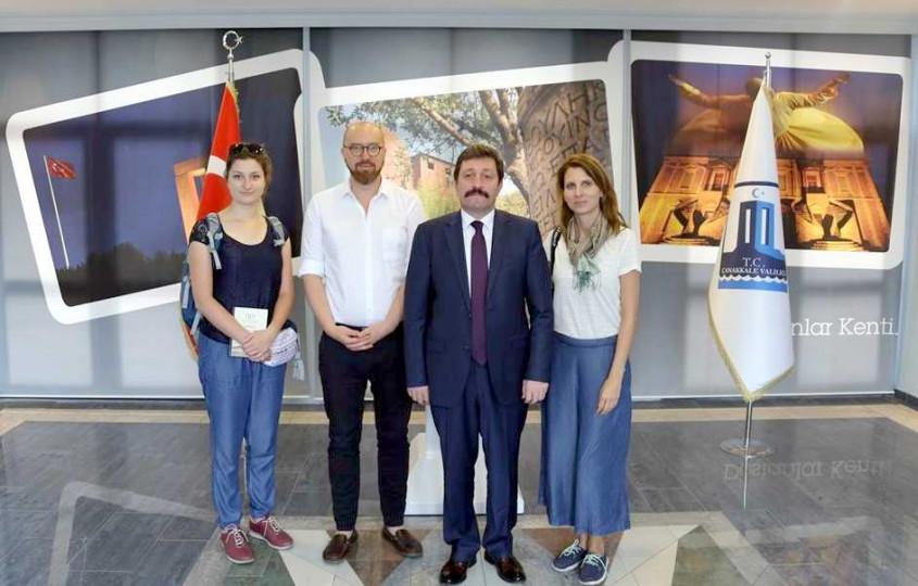 Polonyalı Gazeteciler Çanakkale'yi Tanıtacaklar