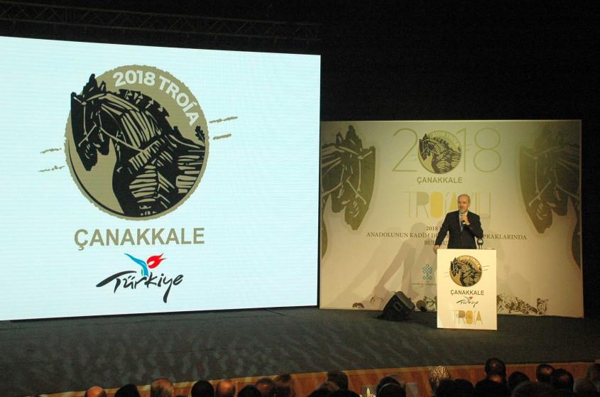 """""""2018 Troia Yılı Tanıtım Toplantısı"""" Çanakkale'de Yapıldı"""