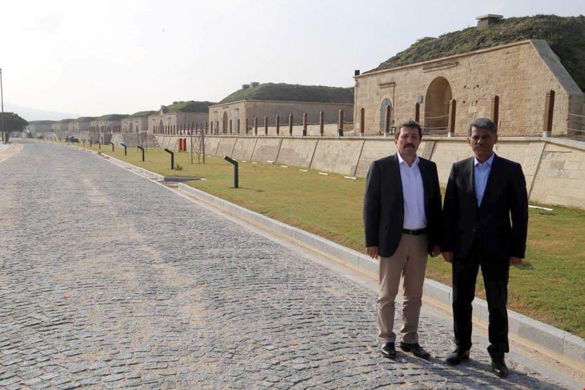 Anadolu Hamidiye Tabyası Ziyarete Açılacağı Günü Bekliyor