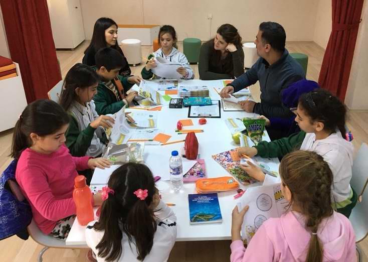Çocuk Kültür Evi'nde Yaratıcı Yazarlık Atölye Çalışması