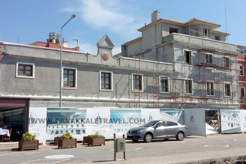 147 Yıllık Tarihi Binada Restorasyon Tamamlanıyor