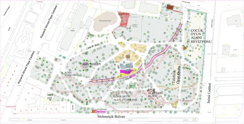 Çanakkale'de Halk Bahçesi Yenileniyor