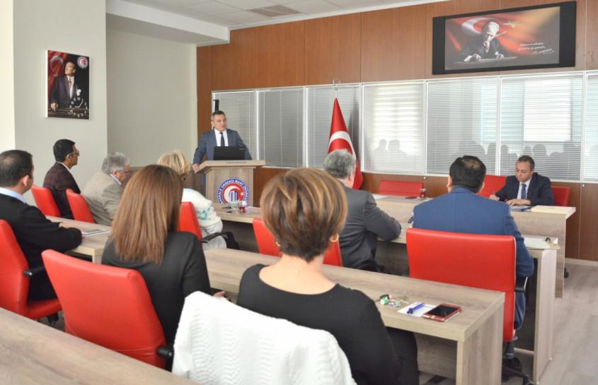 ÇOMÜ Turizm Fakültesi Akademik Kurul Toplantısı Gerçekleştirildi