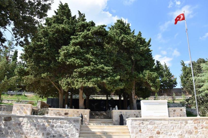 Hasan Mevsuf Şehitliği'nde Restorasyon Tamamlanıyor