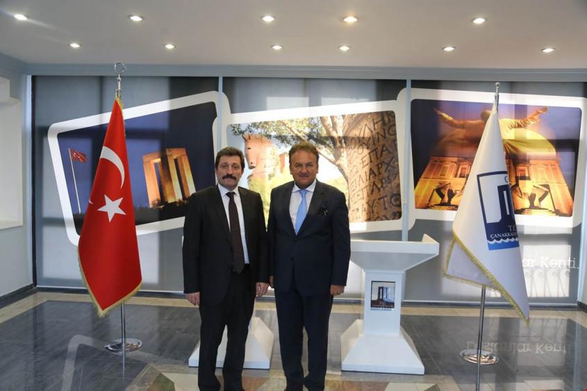 TURSAB Yurtdışı Temsilcisi Baraner'den Vali Orhan Tavlı'ya Ziyaret