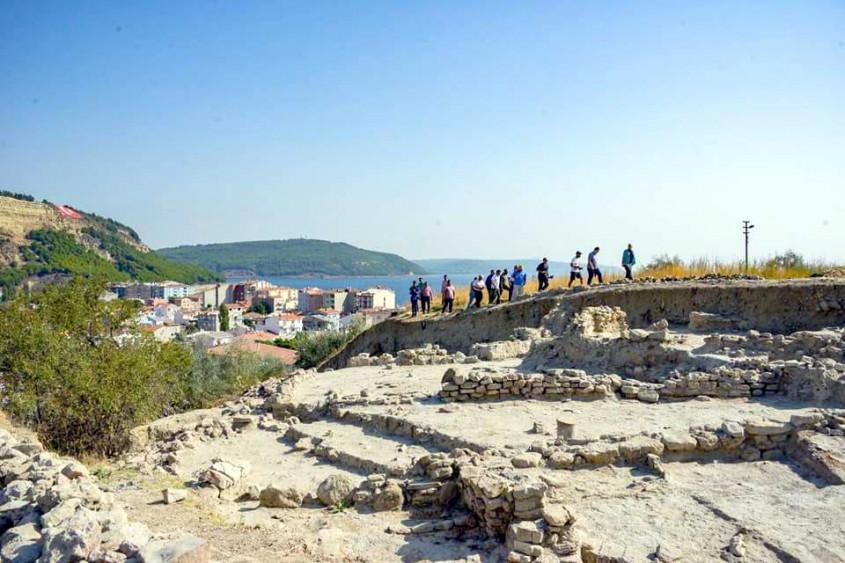 Kilisetepe Höyüğünde 4 Bin Yıllık Savunma Duvarı Bulundu