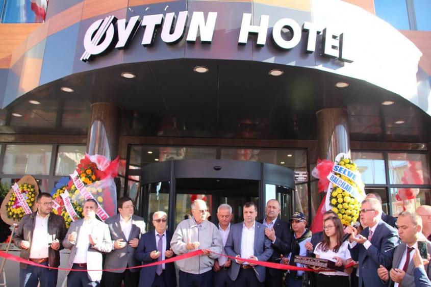 Çanakkale'de 3 Yıldızlı Oytun Hotel Hizmete Girdi