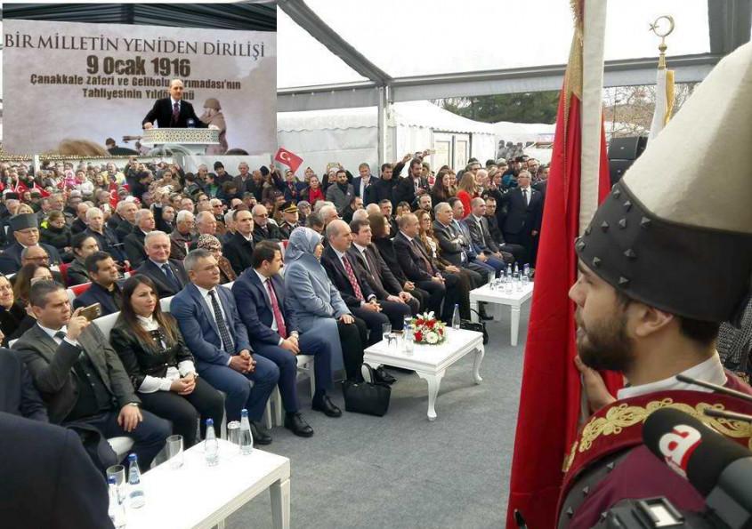 Kültür ve Turizm Bakanı Numan Kurtulmuş Çanakkale'de