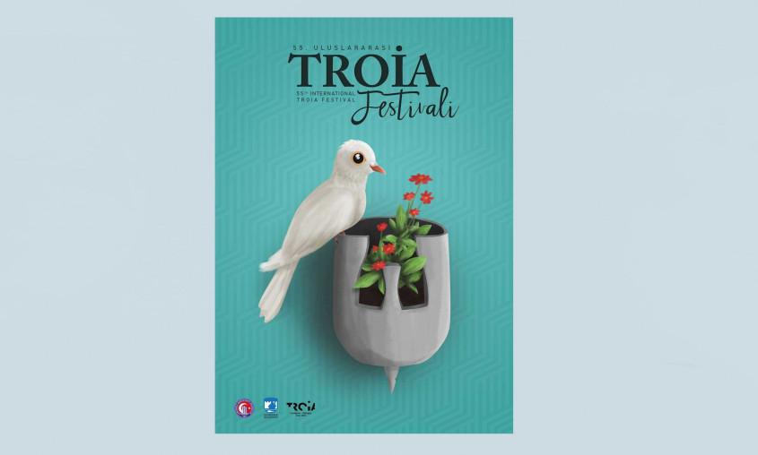 İşte 55. Uluslararası Troia Festivali'nin Afişi