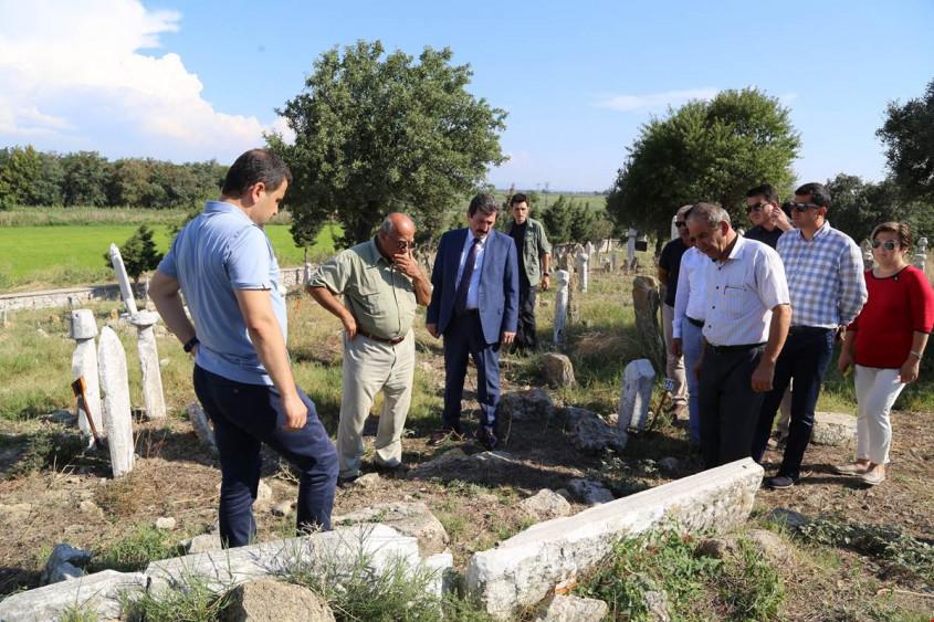 Vali Tavlı Troya Bölgesindeki Tarihi ve Kültürel Alanları Gezdi