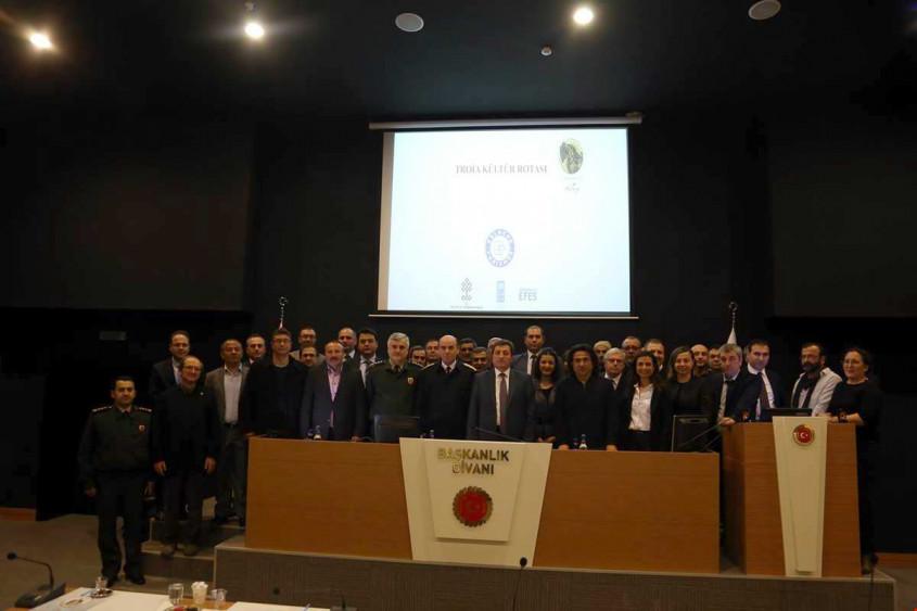 Troia Kültür Rotası Projesinin Tanıtımı Yapıldı
