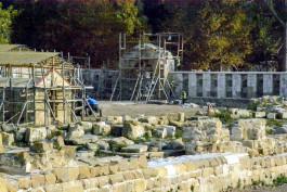 198 Yıllık Tarihi Bigalı Kalesi'nin Restorasyonu Sürüyor