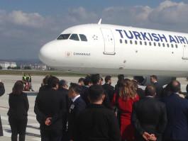 Çanakkale - İstanbul Uçak Seferleri Yeniden Başladı