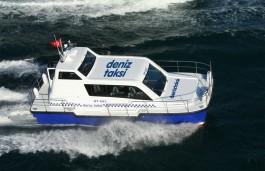 """Çanakkale'de """"Deniz Taksi"""" İle Ulaşım Sağlanabilecek"""