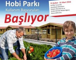 Haydi Çanakkaleliler Hobi Parkına...