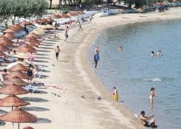 Karabiga Plajında Mavi Bayrak Dalgalanacak