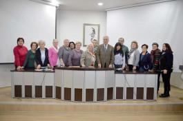 Mitrovicha Türk Kadın Dostluk Derneği'nden Başkan Gökhan'a Ziyaret