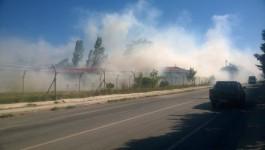 Çanakkale'de 116. Jandarma Alayı İçinde Yangın