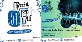 """""""54. Uluslararası Troia Festivali""""nin Programı Belli Oldu"""