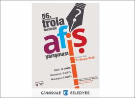 56. Uluslararası Troia Festivali Afiş Yarışması Başladı