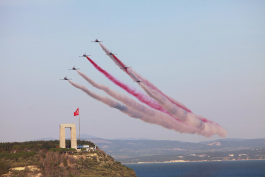 Türk Yıldızları Çanakkale'de Uçacak