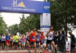 Binlerce Kişi Turkcell Gelibolu Maratonu'nda Barış İçin Koştu