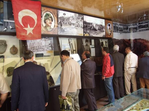Çanakkale 1915 Gezici Müzesi Bafra'da