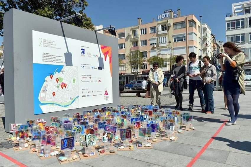 """""""2. Uluslararası Çanakkale Çocuk Bienali"""" Başladı"""