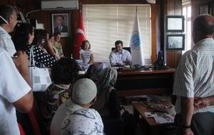 Bulgar Misafirler Eceabat'ı Ziyaret Etti