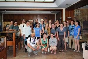 İlk Turist Kafilesi Çanakkale Evi'ni gezdi
