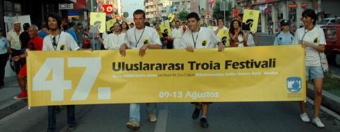 """""""47. Uluslararası Troia Festivali"""" Başladı"""