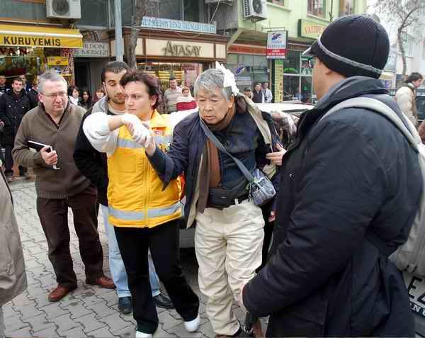 Japon Turist Kazayı Ucuz Atlattı