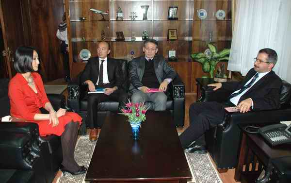 Japon Büyükelçisinden Vali Atalık'a Ziyaret