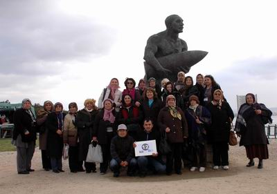 Antalyalı 2 Bin Kadın Çanakkale'de
