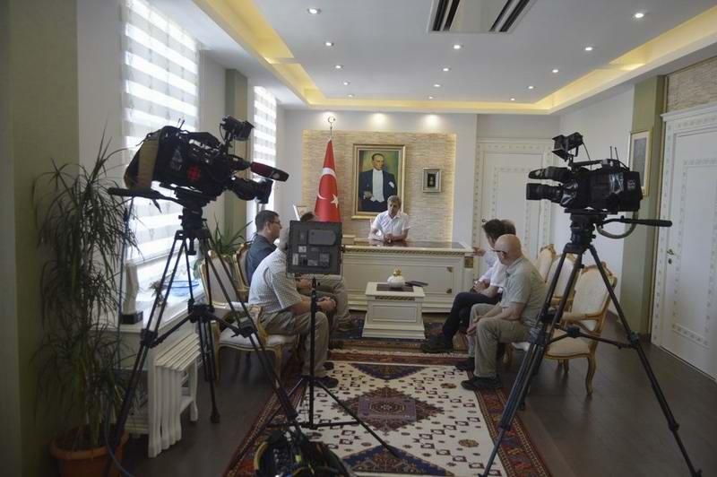 """Kanada """"CBC Televizyonu"""" Çanakkale'de"""