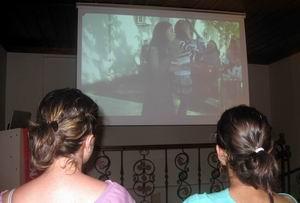 Kent Müzesinde Video Gösterimi